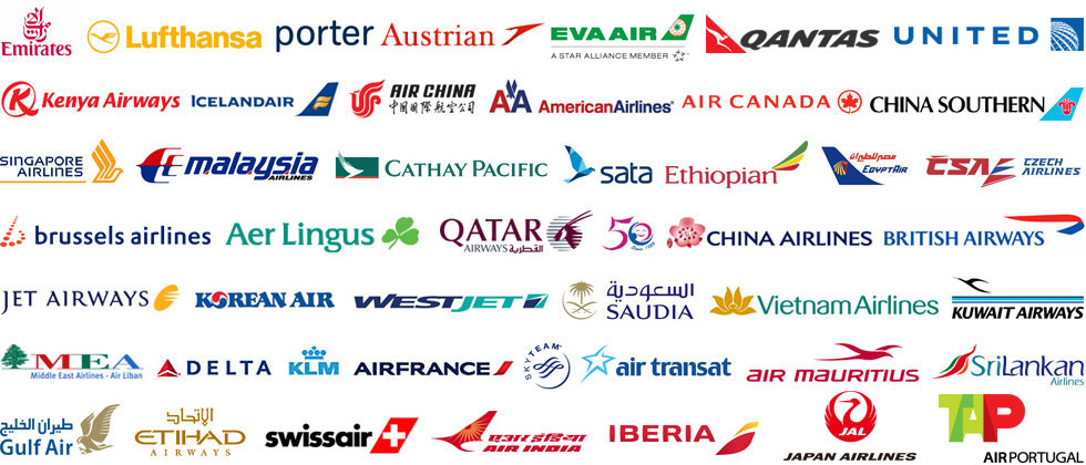 Airline's Logos